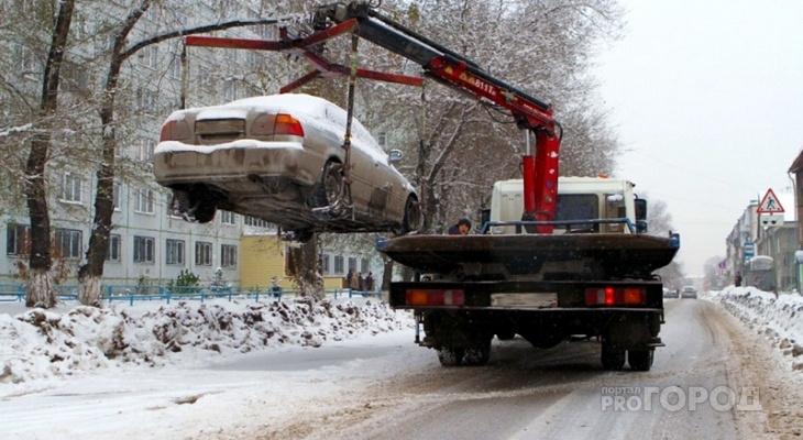 Известен список улиц в Кирове, где будут эвакуировать машины 18 и 19 января