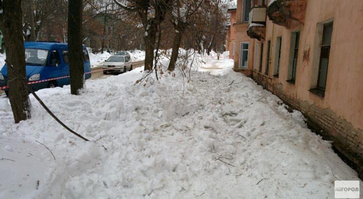 Что обсуждают в Кирове: на ребенка упала глыба льда и резкое похолодание на рабочей неделе