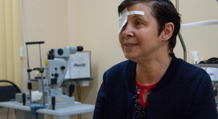 «Я смогу видеть как раньше»: кировские врачи вернули зрение женщине