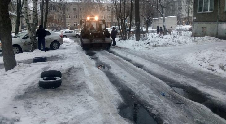 Штрафы до 200 тысяч: кировские дворы проверили на качество уборки снега