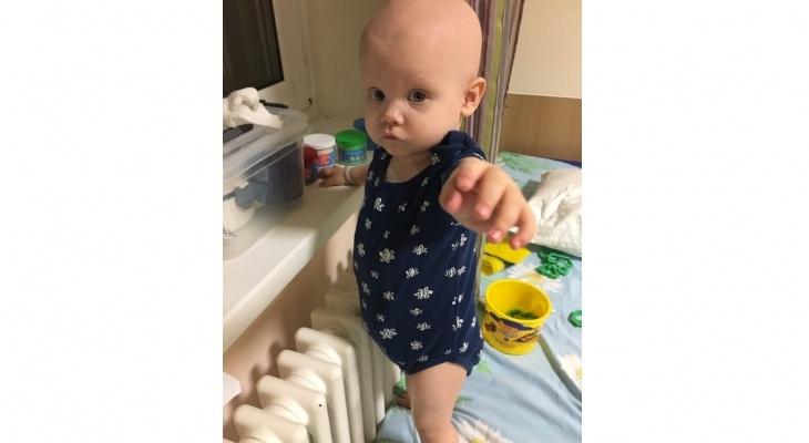 Кировчане помогли собрать деньги на лечение малышки Кристины с 4 стадией рака