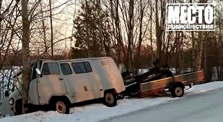В Тужинском районе чиновник устроил аварию