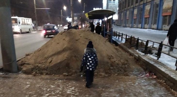 Опубликован список остановок в Кирове, которые отремонтируют весной 2020 года