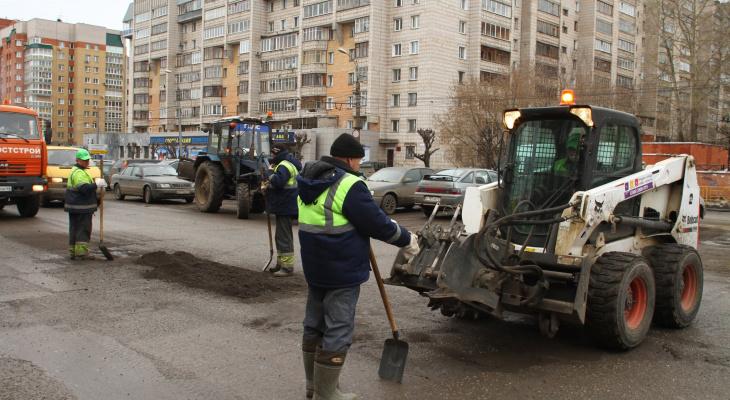 Опубликован список из 49 улиц Кирова, которые отремонтируют весной и летом