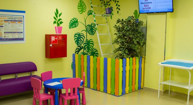 В детской поликлинике на проспекте Строителей завершилась реконструкция