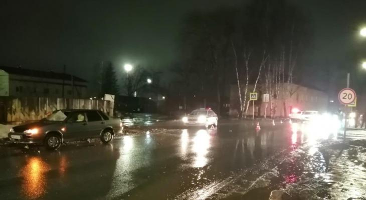 В Кирове 19-летний водитель сбил пенсионера на пешеходном переходе