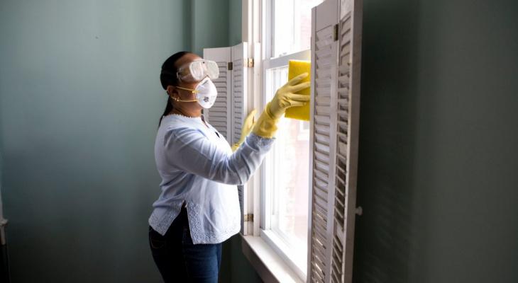 В Роспотребнадзоре рассказали, как нужно прибираться дома в период пандемии коронавируса