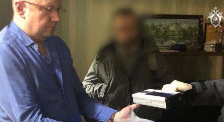 Появилось видео задержания вице-губернатора Кировской области