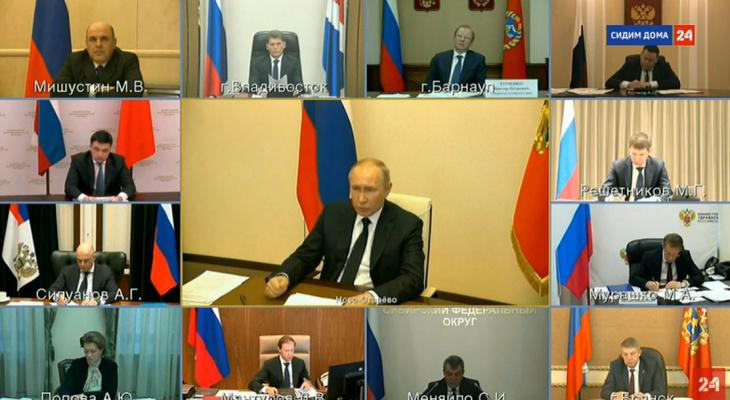Владимир Путин заявил о дополнительных выплатах медикам от 25 до 80 тысяч рублей
