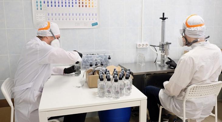 Кировские студенты разработали антибактериальный спрей