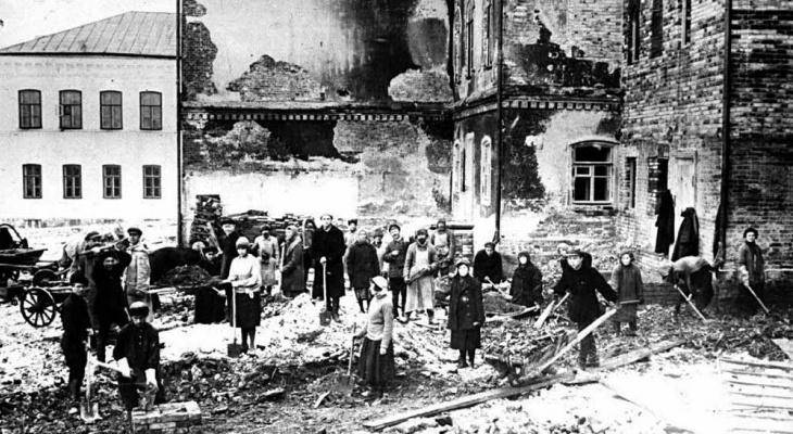 Пожар начался с сарая: 94 года назад огонь почти полностью уничтожил Котельнич