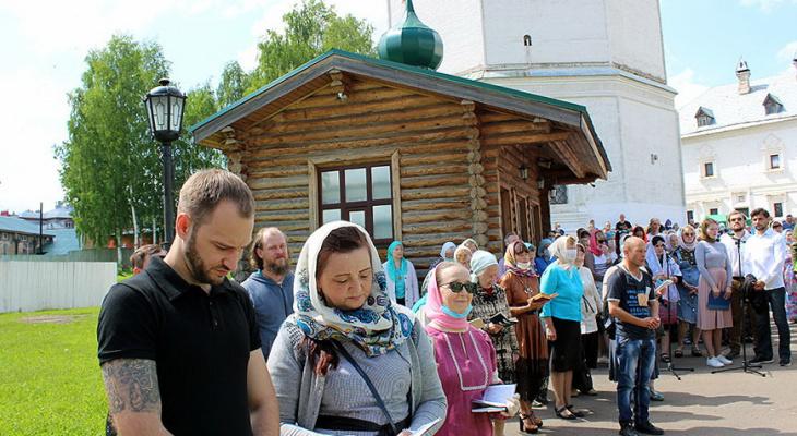 В Киров вернулись паломники из Великорецкого крестного хода