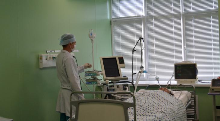 В Кировской области растет число больных COVID-19 в тяжелом состоянии