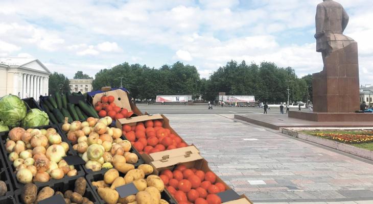 Часть Центрального рынка переедет на Театральную площадь