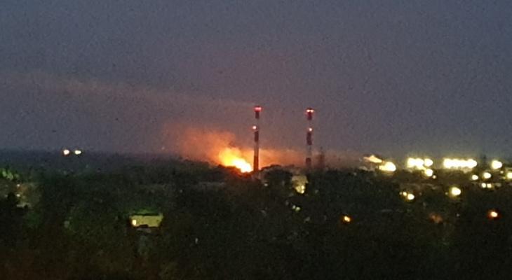 В Нововятске в ночь на 4 июля произошел серьезный пожар