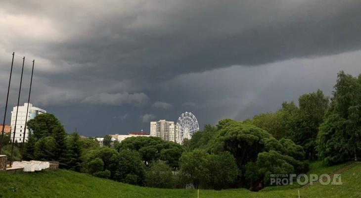 Ветер до 19 м/с и грозы: в Кировской области объявлено метеопредупреждение