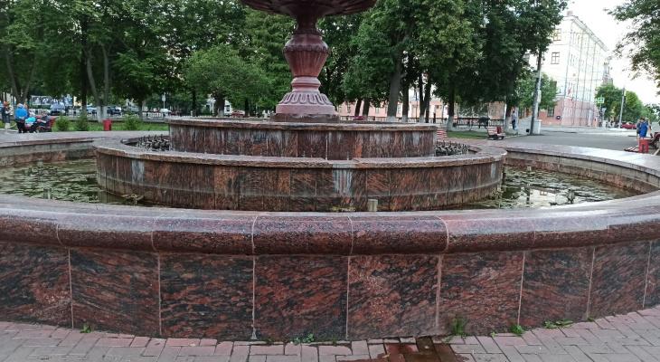 Фонтан на Театральной площади временно закрыли
