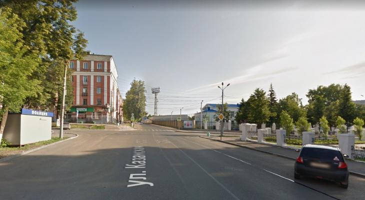 Часть улицы Казанской перекроют до конца сентября