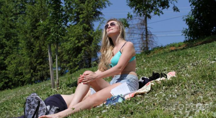 Теплая неделя: известен прогноз погоды в Кирове с 3 по 9 августа