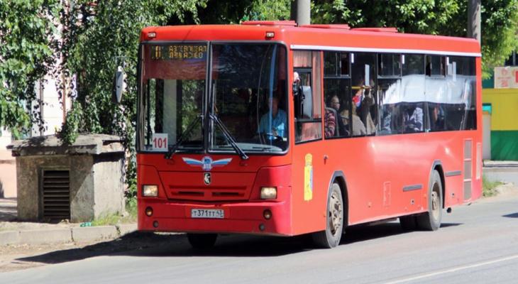 Из-за перекрытия Щорса в Кирове временно изменятся маршруты 6 автобусов