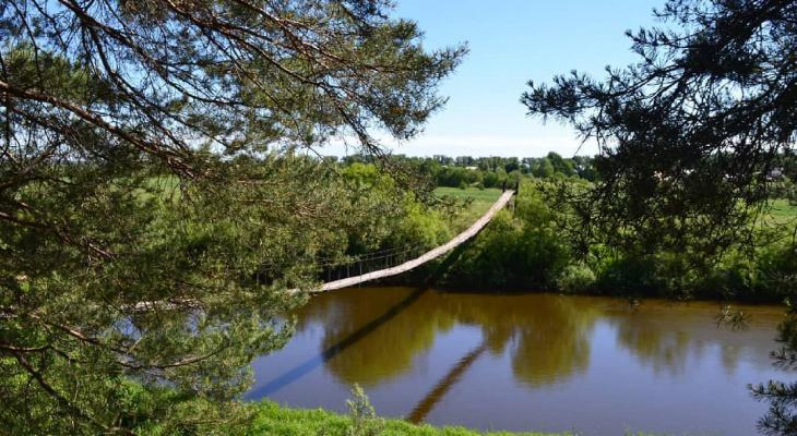5 висячих мостов Кировской области, по которым не каждый решится пройти