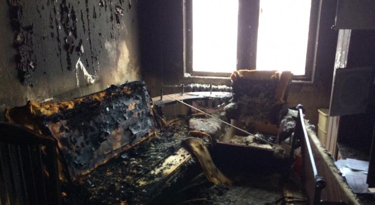 В Кировской области за три дня в пожаре погибли три человека