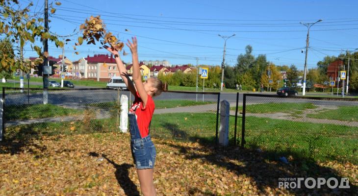 Синоптик назвал точную дату, когда в Кировскую область придет бабье лето