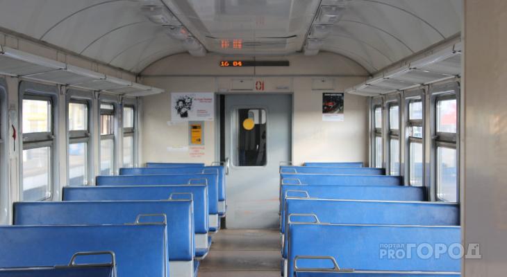 В Кирове отменяют три электрички, которые курсировали летом