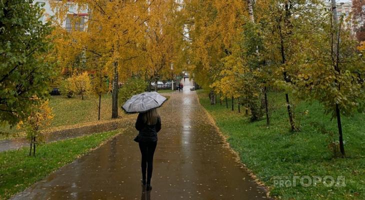 В Кирове прогнозируют резкое похолодание и повышение атмосферного давления