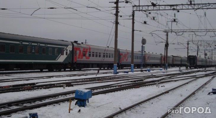 В Кирове сняли с поезда мужчину, который избил соседку по купе