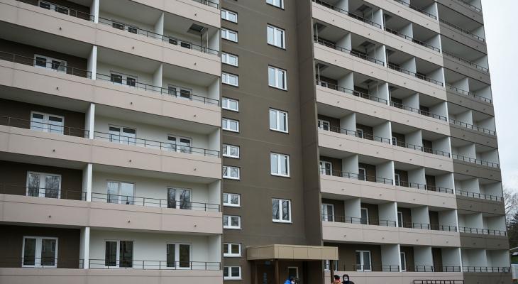Дом на улице Садовой для переселенцев из ветхого жилья сдан в эксплуатацию