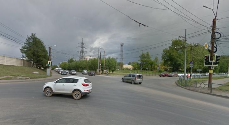В Кирове общественник нашел еще один перекресток с загрязненным воздухом