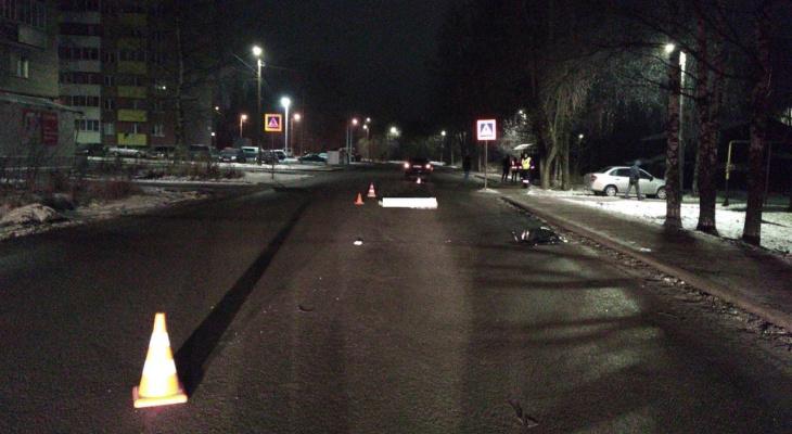 В Кирове водитель иномарки наехал на лежащего пешехода: мужчина погиб