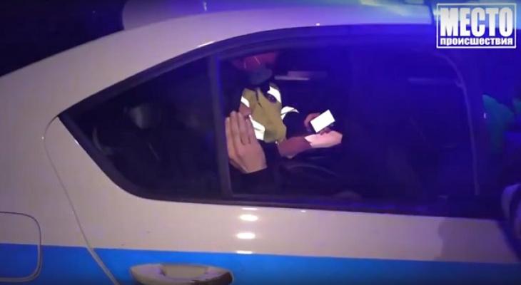 За пьяным водителем без прав устроили погоню по улицам Кирова