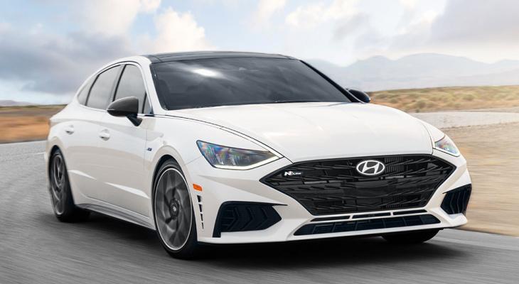Новый автомобиль Sonata N Line от Hyundai презентуют в 2021 году