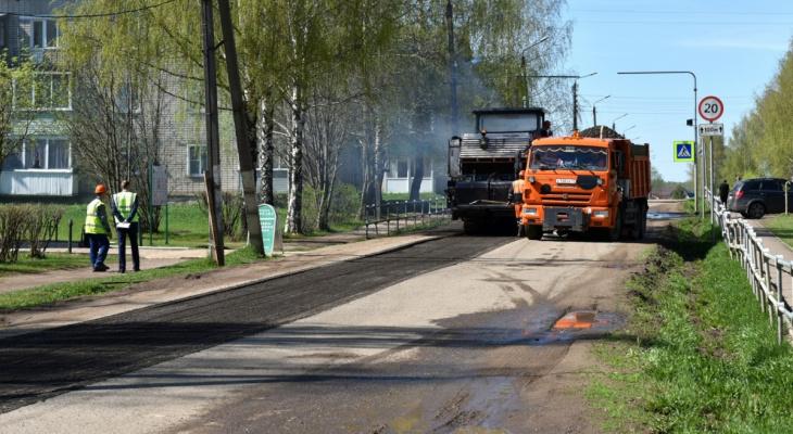 85 дорог отремонтированы в Кирове в 2020 году