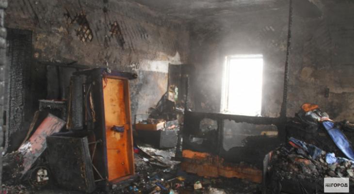 В Кировской области в пожаре погибла женщина