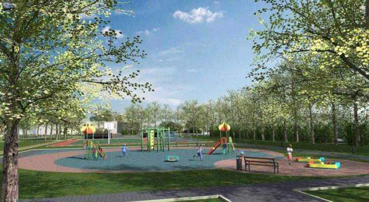 Амфитеатр, скейт-парк и фудкорт: мэрия представила проект благоустройства Гагаринского парка
