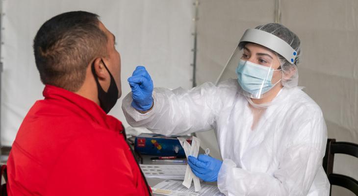 """Результаты тестов на коронавирус теперь будут загружаться на """"Госуслуги"""""""