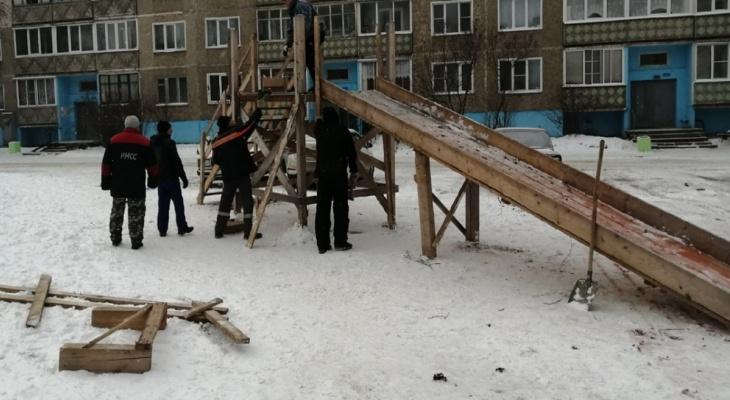 К Новому году в Кирове появятся 340 горок