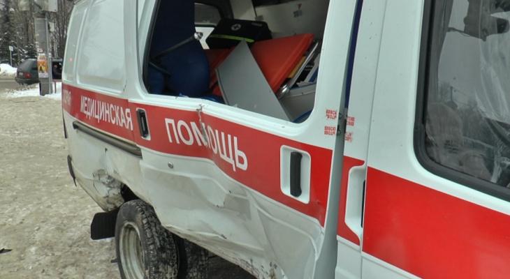 Пьяный житель Кировской области угнал машину скорой помощи