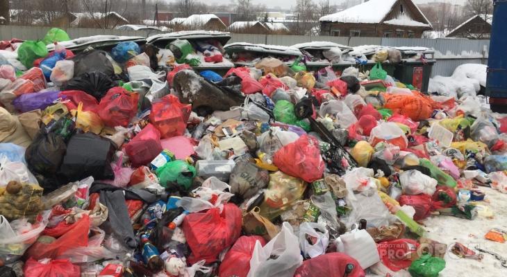 В правительстве объяснили коллапс в Кирове тем, что мусора стало больше
