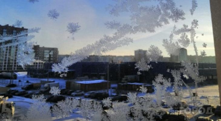 Ночью похолодает до -42: в Кировской области объявлено метеопредупреждение