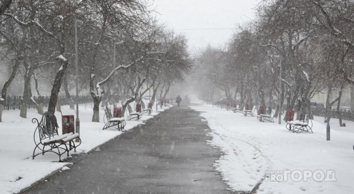 Резкое потепление и снег: известно, какая погода ждет кировчан на выходных