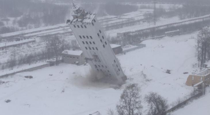 Взрыв башни на Мелькомбинатовском проезде: прямая трансляция