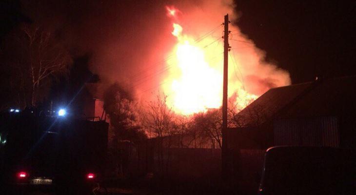 В Кировской области на месте пожара нашли тело мужчины