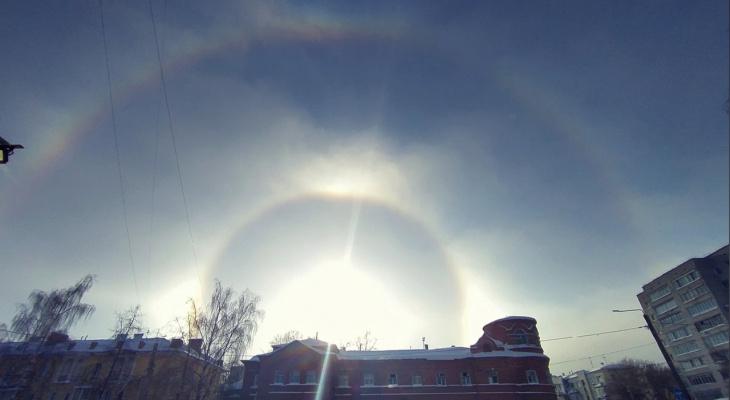 В Кирове впервые за три года зафиксировали редкое природное явление