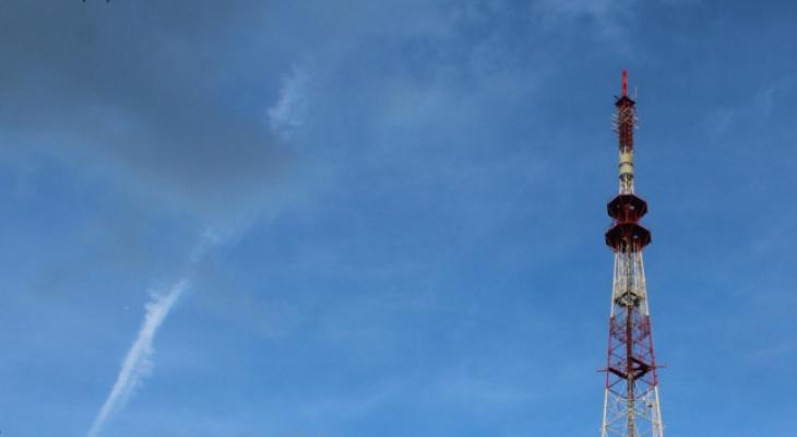 На кировской телебашне включат праздничную иллюминацию 23 февраля