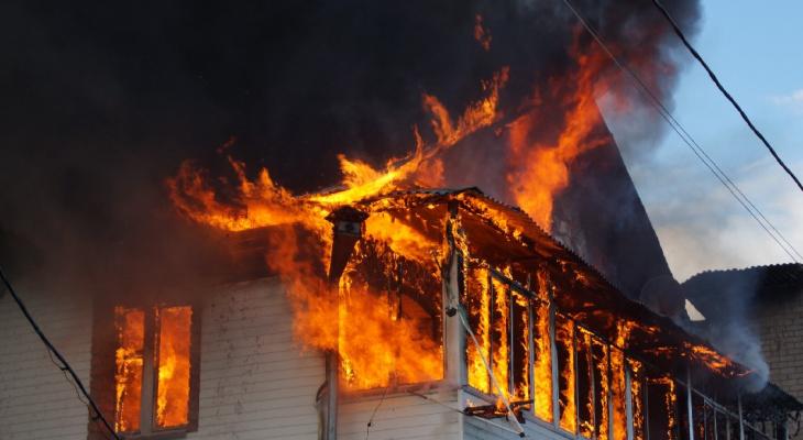 В Нововятске при пожаре погибла женщина 25 февраля