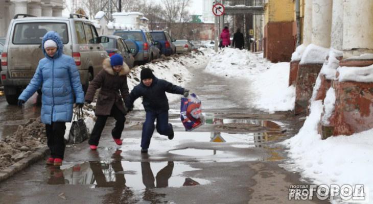 Известно, когда в Кирове и области наступит оттепель
